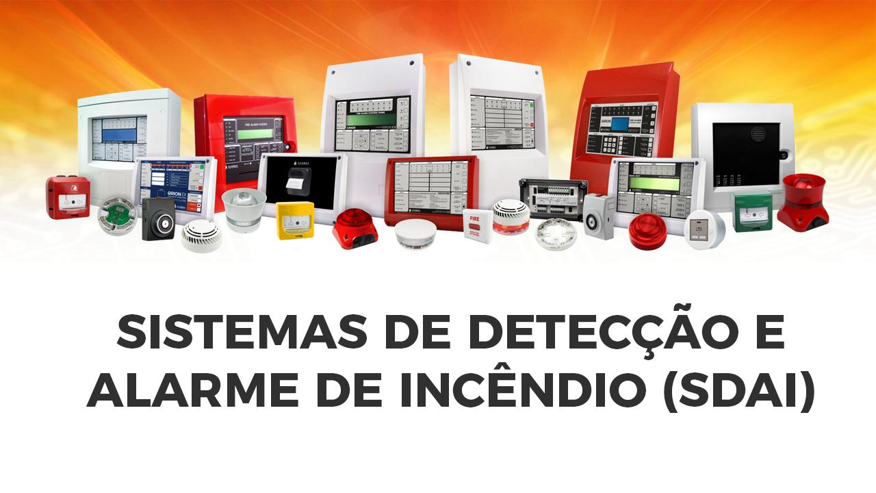 Sistemas de detecção e alarme de incêndio (SDAI)